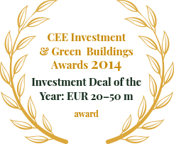 CEE Investment & Green Buildings Awards 2015: Investment Deal of the Year: EUR 20–50 m